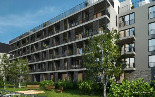 Gartenansicht Alexander Apartments