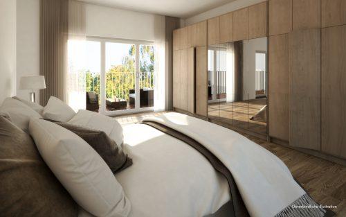 Beispiel Schlafzimmer Penthouse