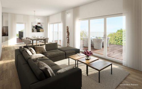 Beispiel Wohnen Penthouse